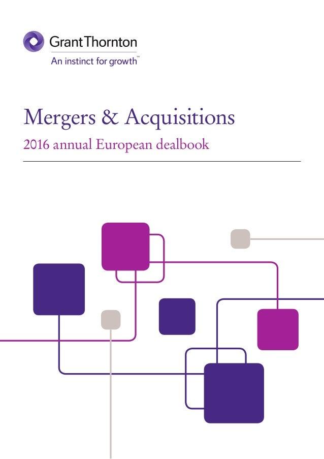 Mergers & Acquisitions 2016 annual European dealbook