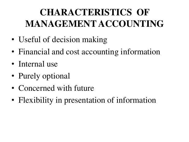 management accounting Definition of management accounting: the process of preparing management  reports and accounts that provide accurate and timely financial and statistical.
