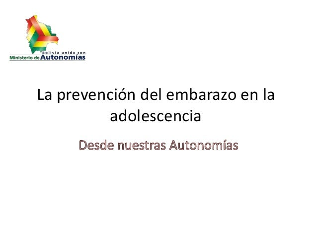 La prevención del embarazo en la adolescencia