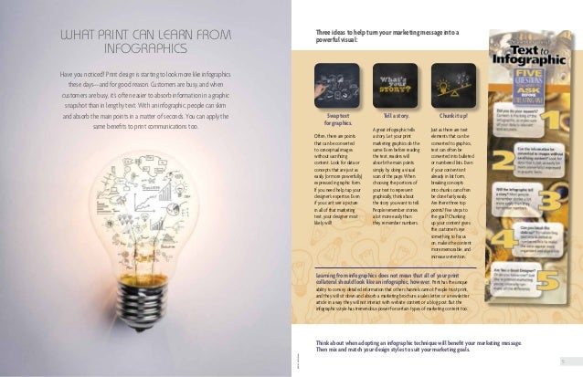5 photos©istock.com Swap text for graphics. Often, there are points that can be converted to conceptual images without sac...