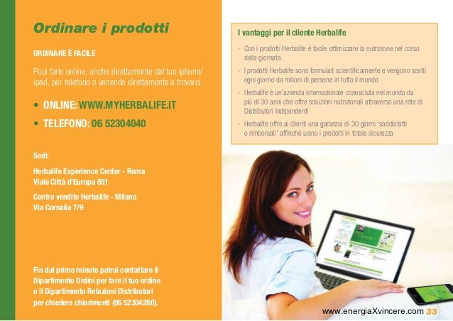 L Opportunita Commerciale Herbalife