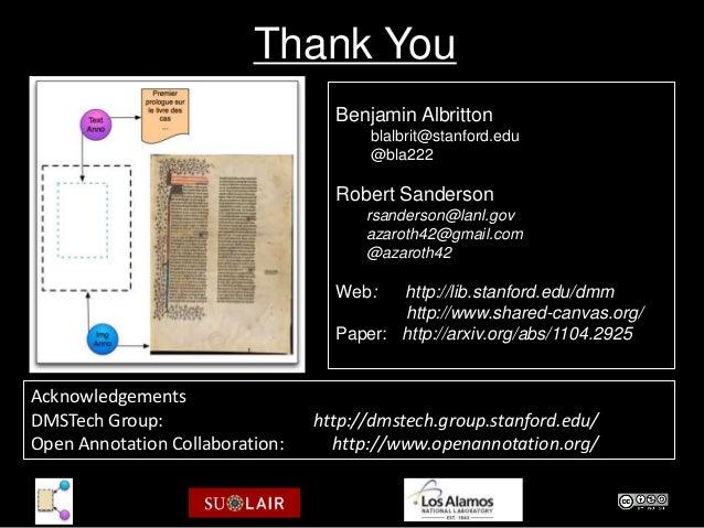 Thank You                                   Benjamin Albritton                                       blalbrit@stanford.edu...