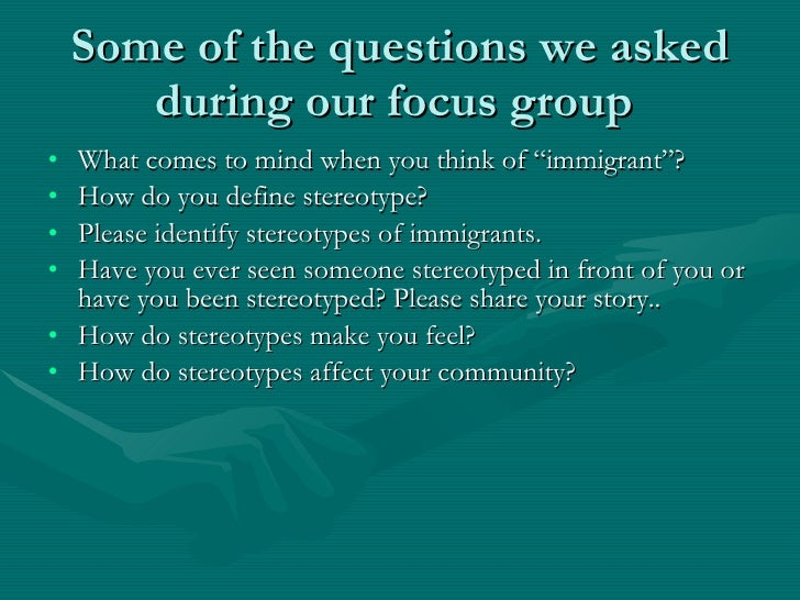 immigration stereotypes Stereotypes are traits assigned to groups of people based on their race, nationality and sexual orientation, to name a few what is a stereotype stereotypes are traits assigned to groups of.