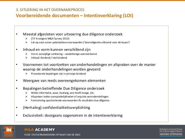 intentieverklaring voorbeeld overname Intentieverklaring Voorbeeld Overname | gantinova