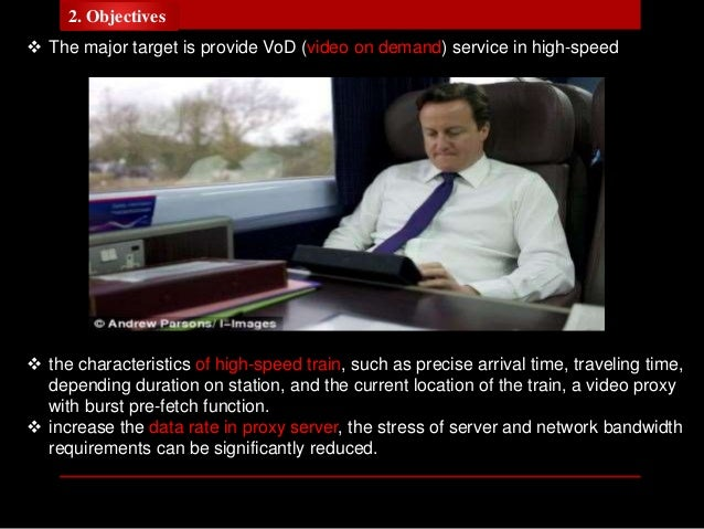 Video Streaming Proxy in High-Speed Train