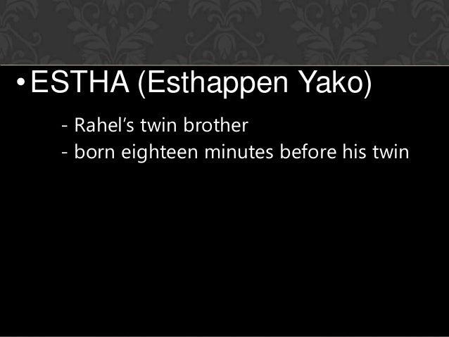 estha and rahel relationship poems
