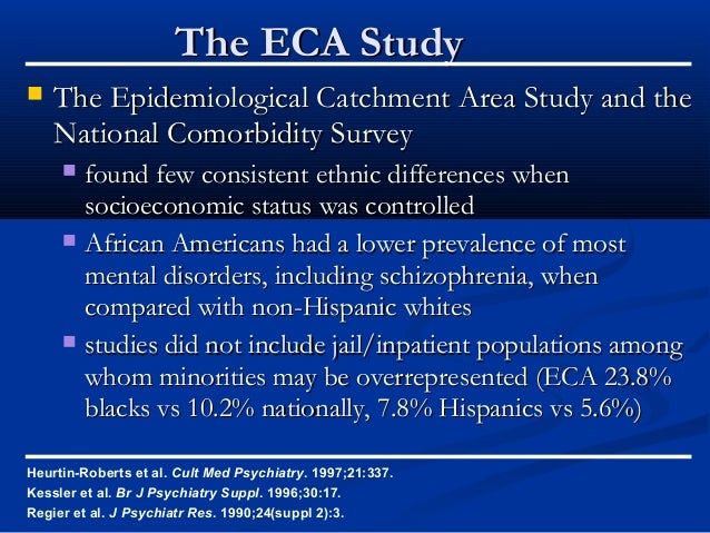 Epidemiologic Catchment Area Study, 1980-1985: [United ...