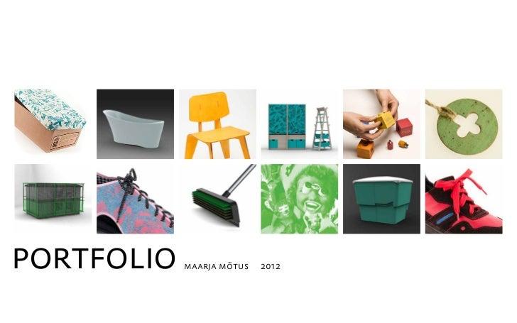 portfolio   maarja mõtus   2012