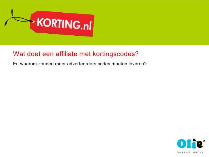 Wat doet een affiliate met kortingscodes? En waarom zouden meer adverteerders codes moeten leveren?