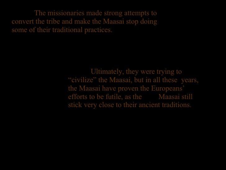 Maasai History Project Africa