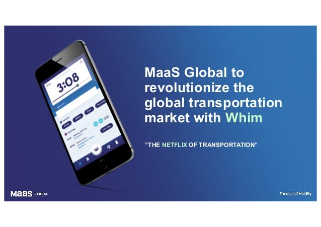 MaaS Global to revolutionize the global transportation