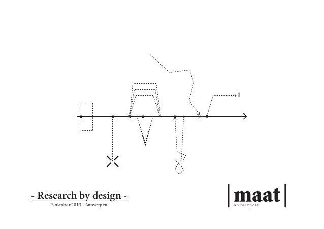 ! X  X  - Research by design 3 oktober 2013 - Antwerpen  X  X  X  X  X