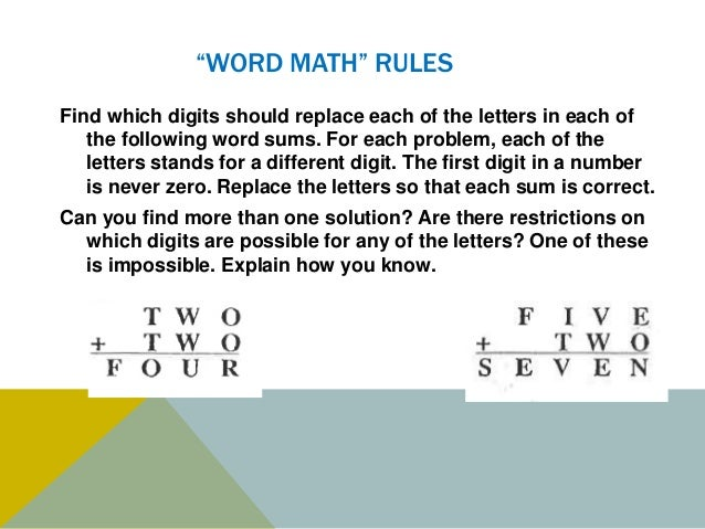 maa word math making letters into numbers ppt 12 24 2014