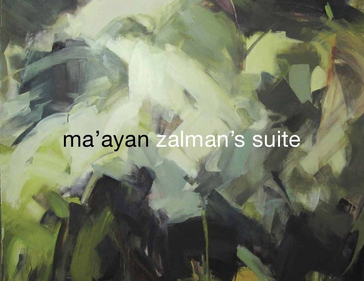 ma'ayan zalman's suite