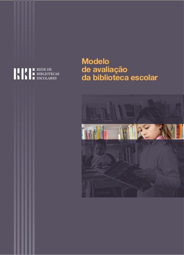 Modelode avaliaçãoda biblioteca escolar
