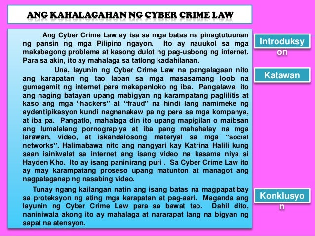Cyberbullying research paper tagalog