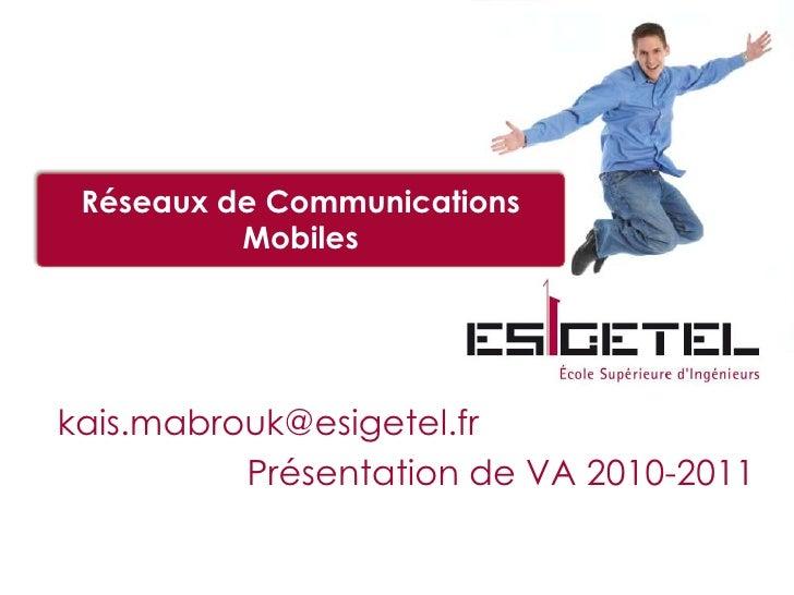 Mabrouk PréSenatation De La Va Rcm 2010 2011  3éMe AnnéE