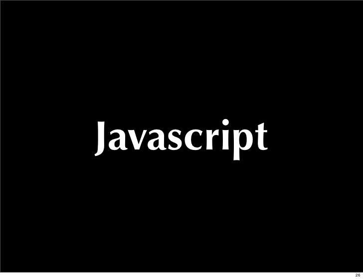 Javascript             26