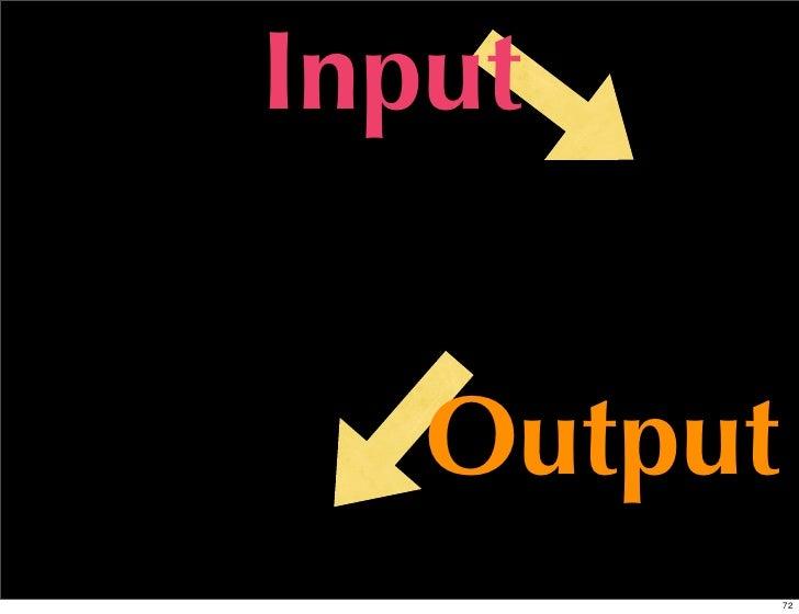 Input   Output            72