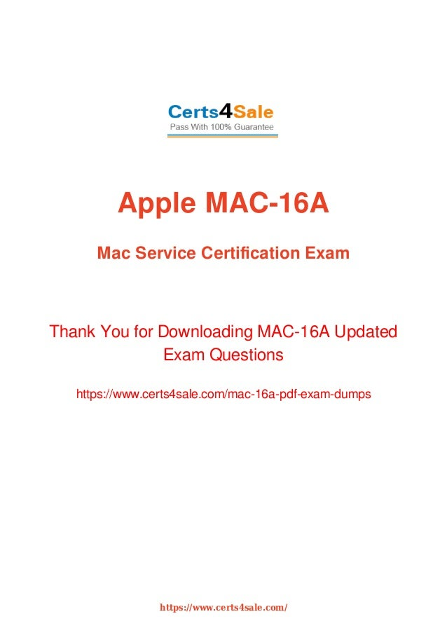 Acmt Mac 16a Technician Exam Dumps With Latest Questions And Answers