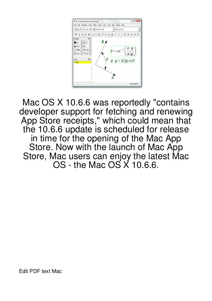 """Mac OS X 10.6.6 was reportedly """"containsdeveloper support for fetching and renewingApp Store receipts,"""" which could mean t..."""