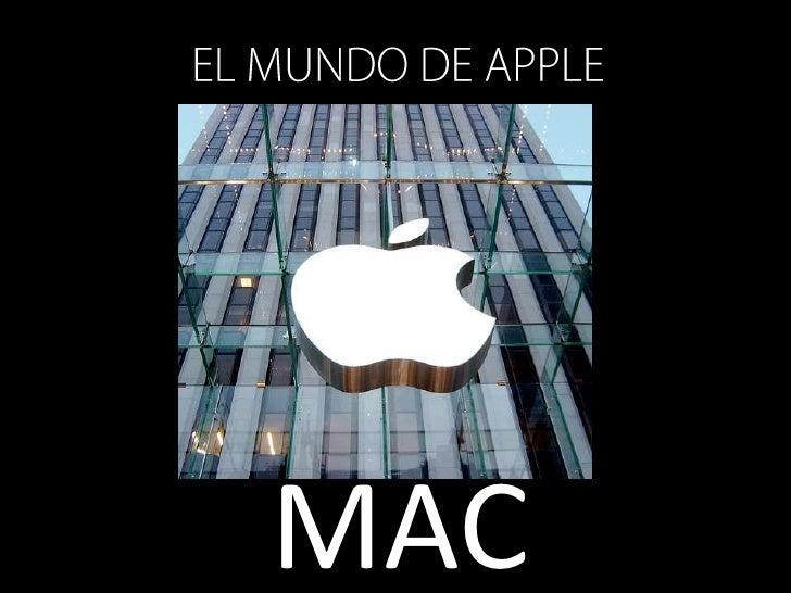EL MUNDO DE APPLE<br />MAC<br />