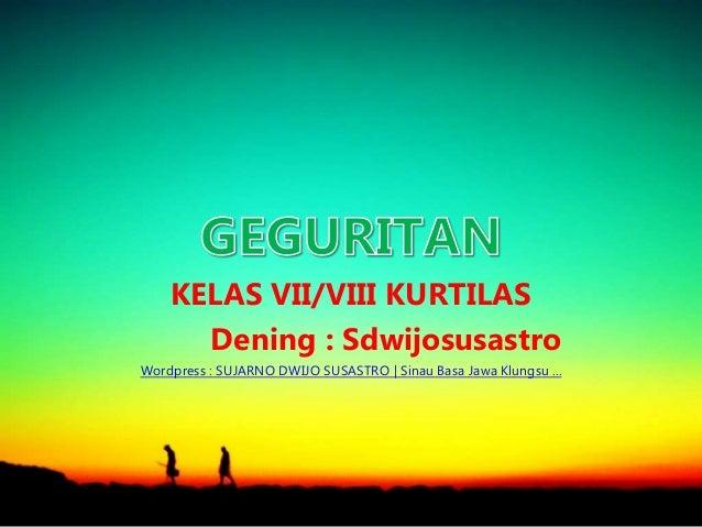 Maca Geguritan