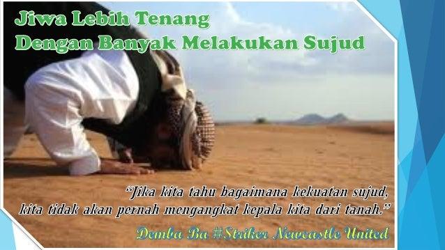 Sujud terima kasih kepada Allah karena memperoleh nikmat, keuntungan atau karena terhindar dari musibah dan bahaya yang be...