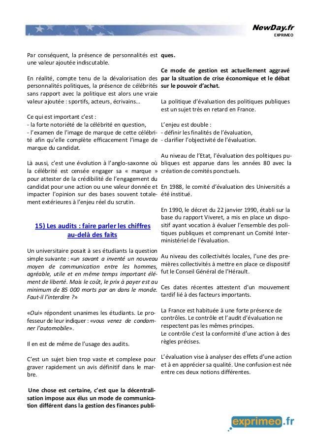NewDay.fr EXPRIMEO Par conséquent, la présence de personnalités est une valeur ajoutée indiscutable. En réalité, compte te...