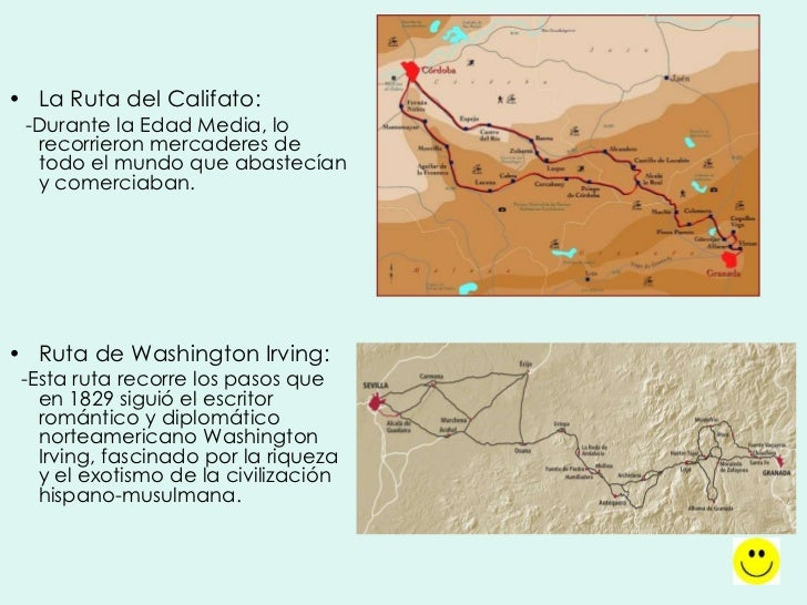 rutas del legado andalus
