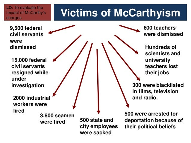 the impact of mccarthyism