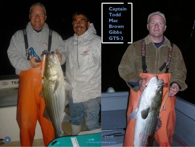 macatacsportsfishing.com CaptainCaptain ToddTodd MacMac BrownBrown GibbsGibbs GTS-3GTS-3 32