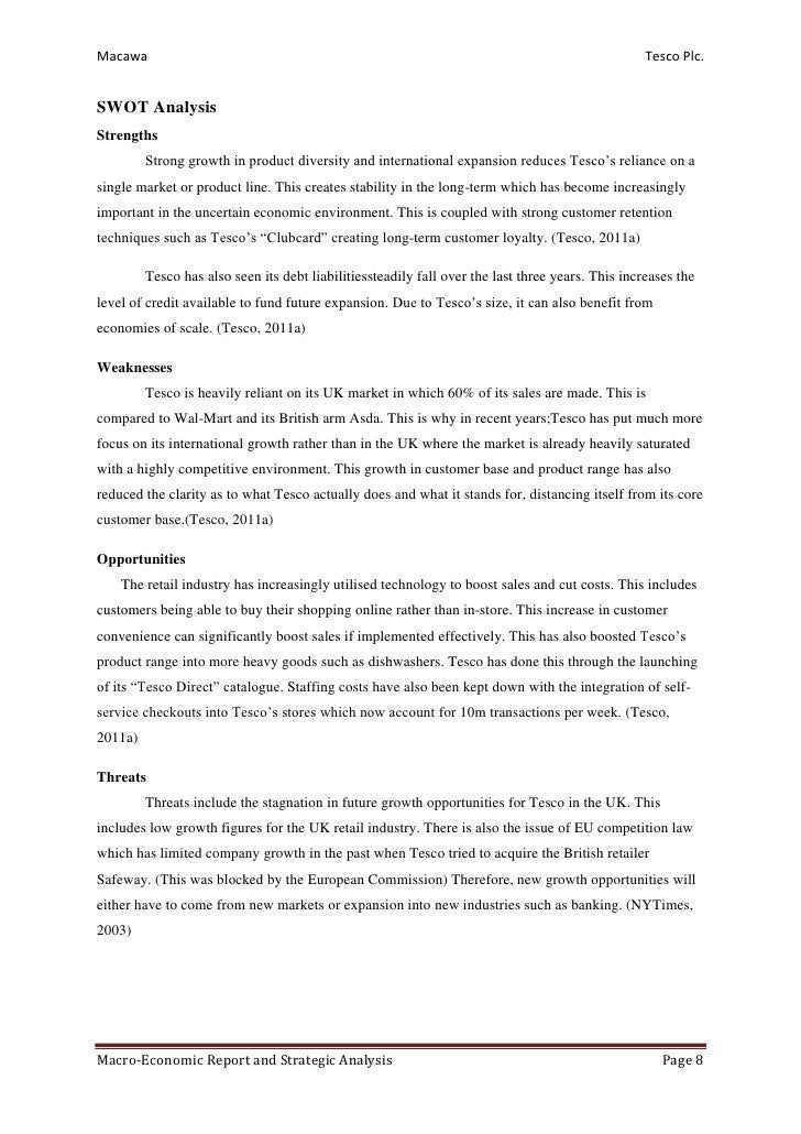 essays on tesco corporate strategy Mba strategic management assignment: business level strategy and corporate level strategy of tesco malaysia 1 case study tesco: corporate level and.