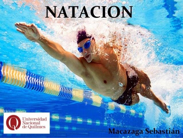 NATACION Macazaga Sebastián