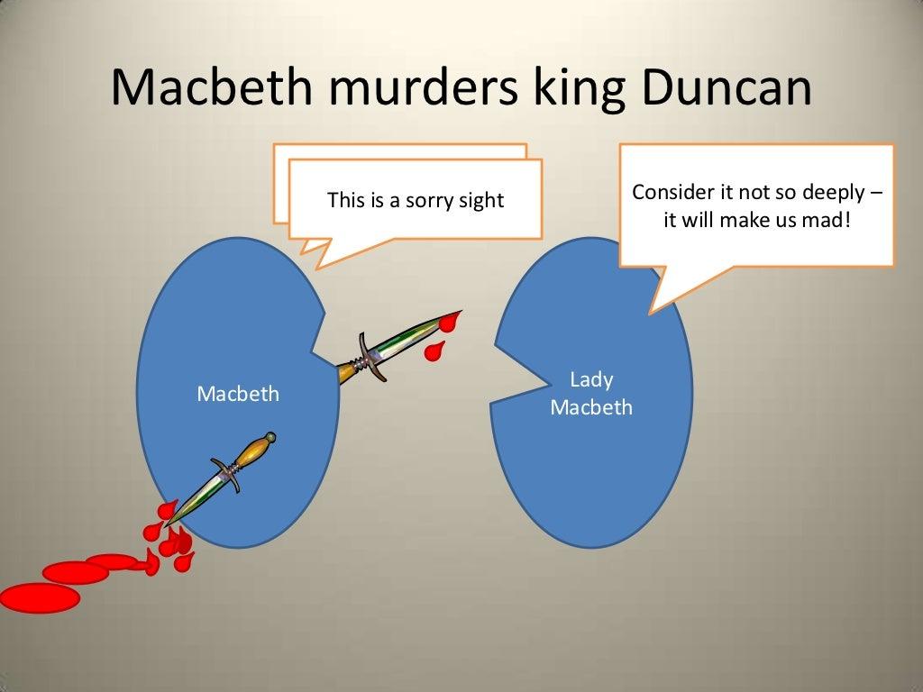 Macbeth and king duncan