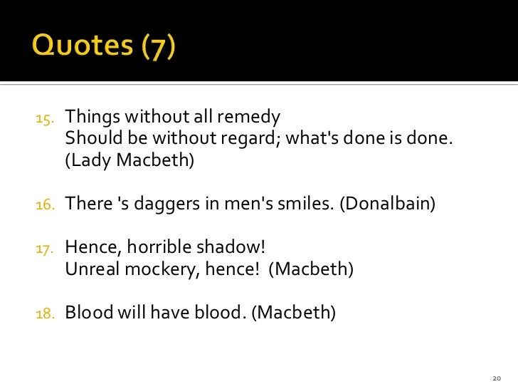 lady macbeth not evil essay Macbeth feeling this way leads on to lady macbeth showing her evil, she expresses that she will not love macbeth until he wants to kill the king lady macbeth shows this by saying from this time such i account thy love.