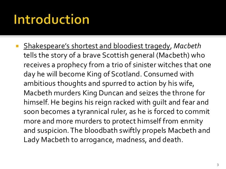 the tragic story of fear and guilt in shakespeares macbeth Everything you ever wanted to know about quotes about macbeth, written by experts with you in mind.