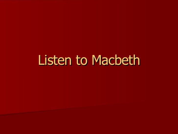 macbeth seminar notes Macbeth: questions who do you think is the main villain or villains of the play the witches, macbeth or lady macbeth why do the witches seek out macbeth do they want to harm him if so, why what does macbeth feel when he first hears the witches' prophecies how is his response different from branquo's lady macbeth.
