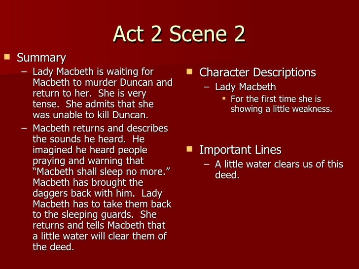 macbeth act notes teacher