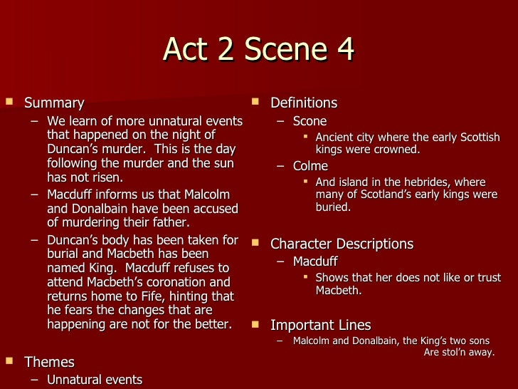 Macbeth and lady macbeth in act 2 scenes 1 and 2 essay