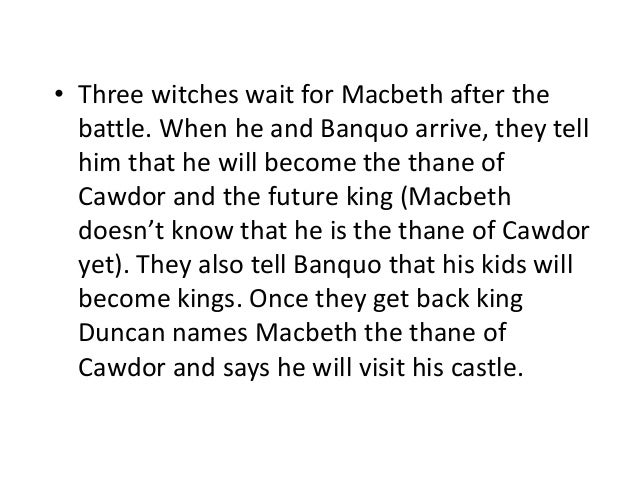letter from lady macbeth to macbeth