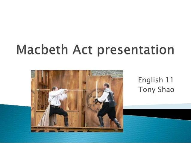 English 11 Tony Shao