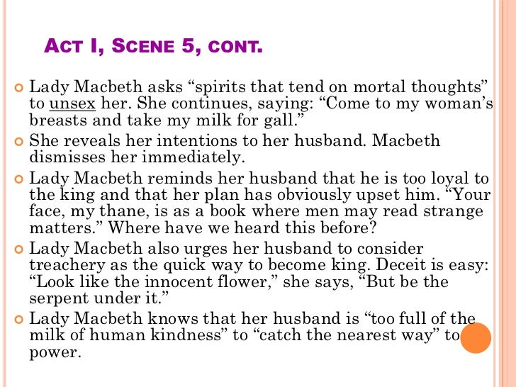 an analysis of the wickedness of lady macbeth The bell rings—a signal from lady macbeth—and he sets off toward duncan's analysis macbeth's famous soliloquy at the beginning of this act introduces an.