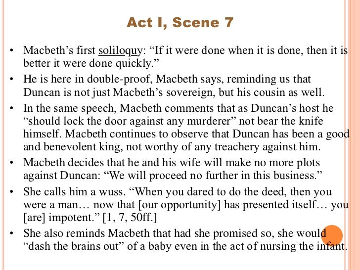 Macbeth Essay Act  Scene   Analysis Of Act  Scene  From  Macbeth Essay Act  Scene