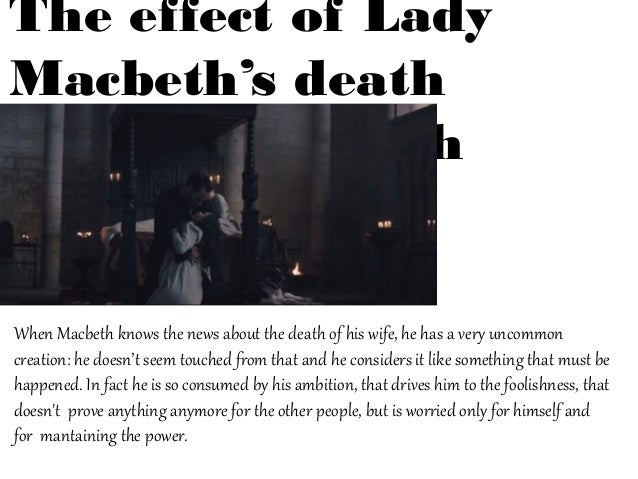 macbeth is ultimately responsible for his own downfall Ultimately macbeth realizes his ghastly sin the evil he has desperately   husband's resistance is also to subdue her own resistance to evil her weakness  is  perversion of nature to herald the downfall of the tyrant and to restore the  physical.
