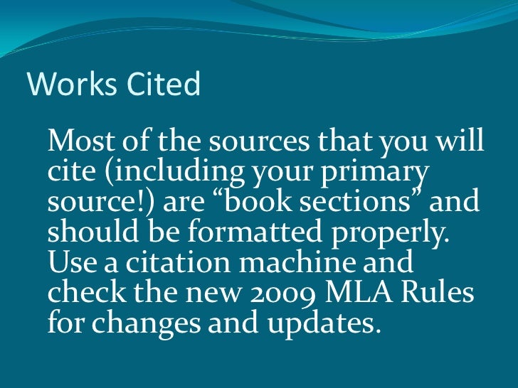 sources and citations A citation is the way you tell your readers that certain material in your work came from another source it also gives your readers the information necessary to find that source.