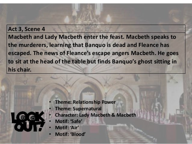 lady macbeth calls on supernatural powers to