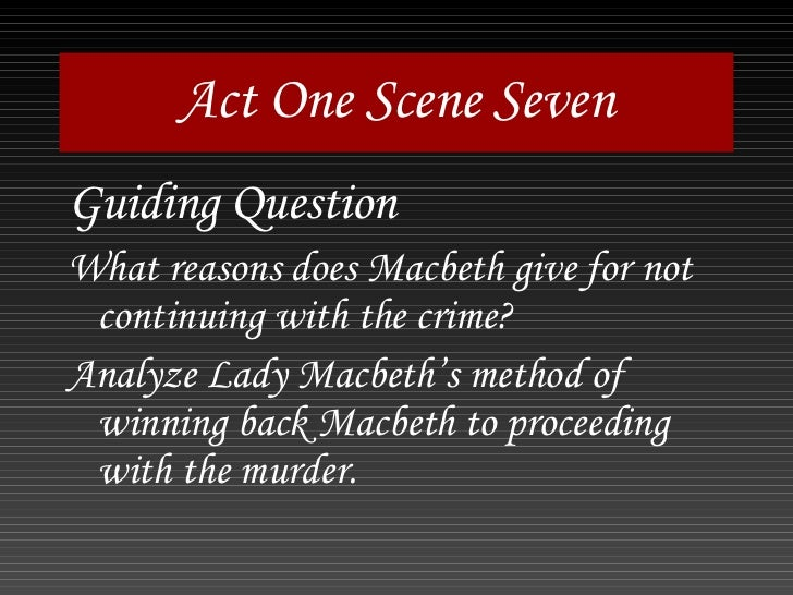 power macbeth Macbeth act 1, scene 5, 38–43 at one point, she wishes that she were not a woman so that she could do it herself (this is a recurrent theme examining the relationship between gender and power) and is key.