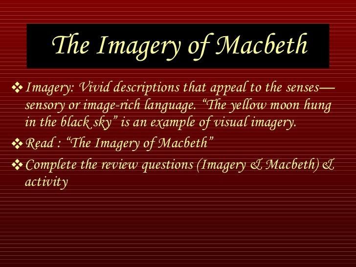 macbeth imagery essay