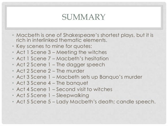 macbeths main theme Article by: sandra m gilbert themes: tragedies, gender, sexuality,   throughout most of literary history, lady macbeth – the scheming.